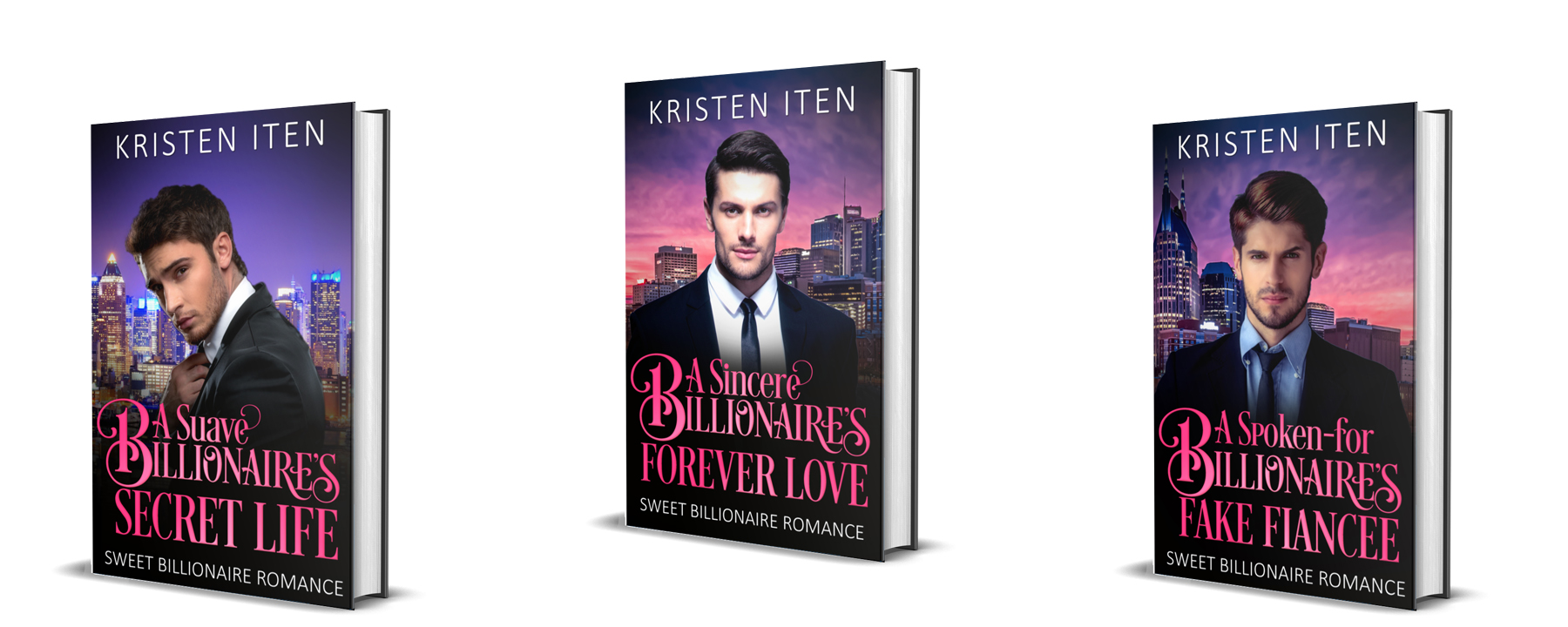 Author Kristen Iten Sweet Billionaire Romance Series